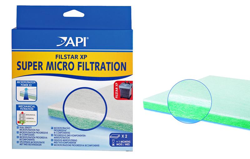 API Filstar XP Aquarium Super Micro Filtration Pads 2pk