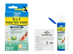 Pond Care 5in1 test strips for Ponds 5 tests No2,No3,KH,GH,pH 25 strips