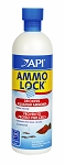 API Ammo Lock 16oz treats  940 us gallons Instantly Detoxifies Aquarium Ammonia