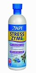 StressZyme Biological Filter Booster 16oz (Treats 946 gals) Live Bacteria Keeps Aquarium Clean