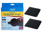Filstar Filter Foam 20ppi 2 pk (ADC840613) Fits All Rena & API Filstar Filters S,M,L,XL,XP1,2,3,4