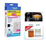 API Crystal Bio-Chem Zorb 20, 6pack 2x3pk Fits API Superclean 20 Power Filter
