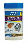 API Tropical Fish Sinking Pellet Food 4.2oz for Angelfish, Tetras,Barbs & Discus