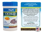 API Cichlid Pellets Small Floating 2.5oz complete and balanced diet w/shrimp & fish protein