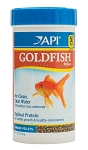 API Goldfish Pellet Food 8oz Mini-Pellets promotes color/digestion