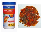 API Goldfish Fish Flake Food 2.0 oz canister resealable lid promotes digestion/color