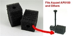 Filter Foam for AP0100 Water Pump Kit (2ea) will also fit other small pumps