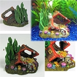 Sunken Treasure Bubbling Aquarium Ornament Medium Size add your own pump