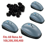 Rubber feet for 100/200/300/400 air pumps (4pk)