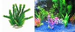 Cabomba Faux Aquarium Plant 12in Green/ Recommended Background Plant