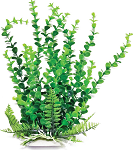 Elodea Faux Aquarium Plant 20in Green/Dark Green Recommended Background Plant
