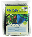 Pond & Bird Protective Netting Black 14ft x 14ft strong and durable