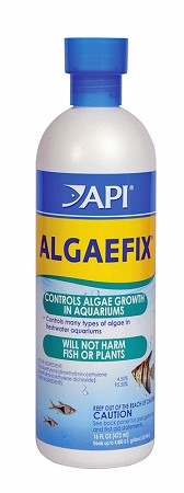 PondCare AlgaeFix Clears Water Fast 16oz bottle treats 4800gal Safe-Fish/Plants