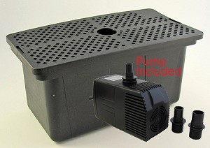 Submersible Pond Filter Kit for up to 750 gal pond by Rena OEM