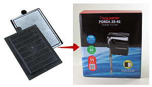 Fits Forza 25-40 gal hang-on power filter