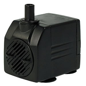 Rena OEM WaterPump 93gph/30 in lift, 6' cord UL listed Fountains/Aquariums/Utility